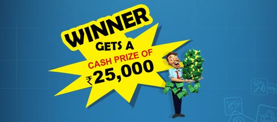 Wiiner gets a cash prize of 25,000